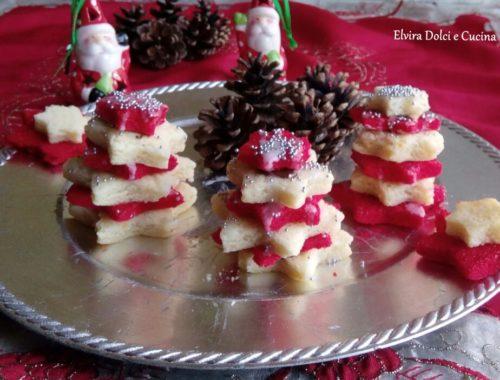 alberelli dolci di Natale