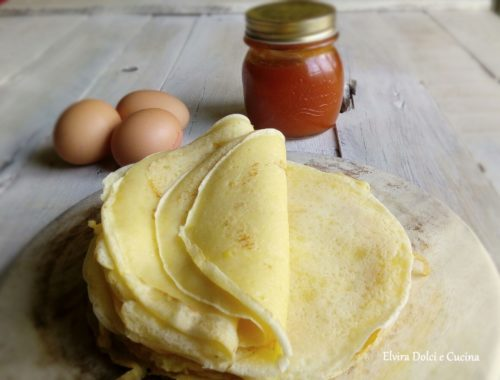 crepes ricetta per farciture dolci e salate
