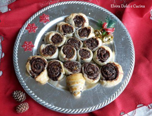 Albero di Natale sfoglia e Nutella®