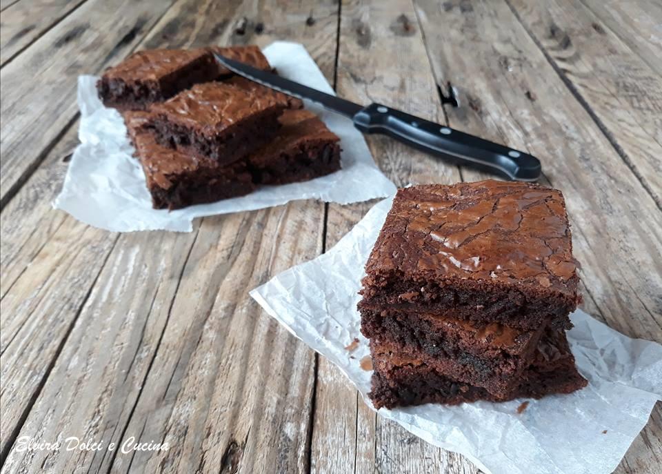 Brownies al cioccolato al latte senza burro