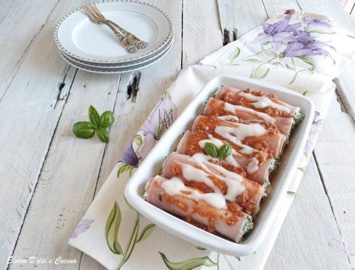 Cannelloni di prosciutto cotto