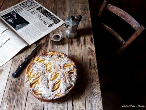torta di mele senza burro e olio