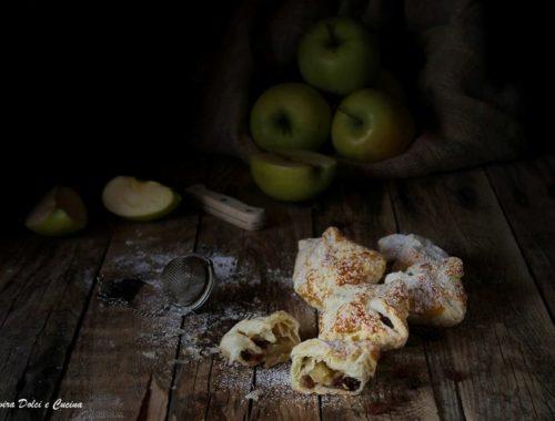 Mini strudel di mele ricetta veloce