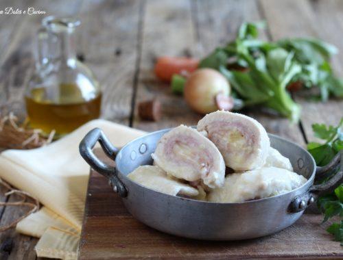 Involtini di pollo con prosciutto e formaggio