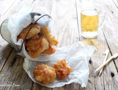 Pollo fritto in pastella alla birra