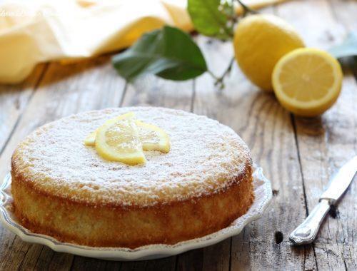 Torta di limoni frullati