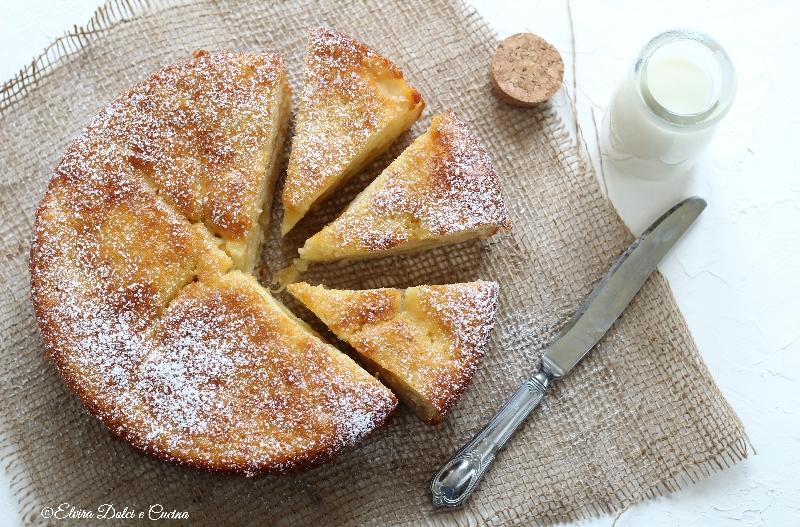 Torta di mele e yogurt ricetta senza burro