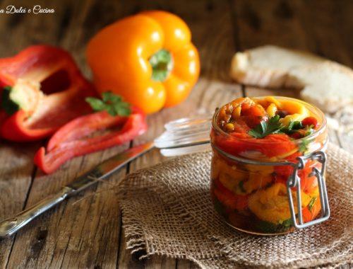 Peperoni arrostiti ricetta facile e veloce