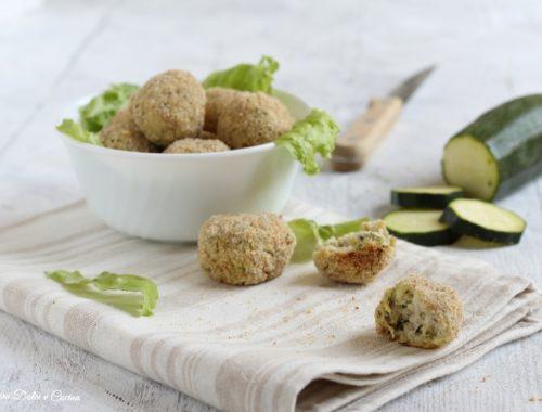 Polpette di zucchine e ricotta ricetta light