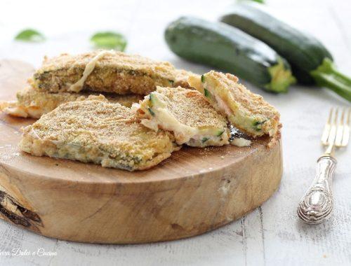 Cordon bleu di zucchine al forno