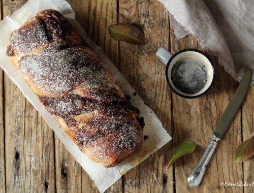 Pan brioche Nutella e crema
