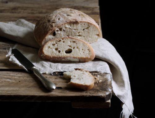 Pane con acqua fermentata