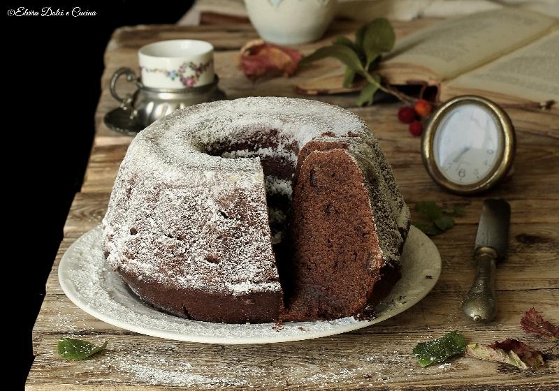 Bundt Cake ricotta e cioccolato