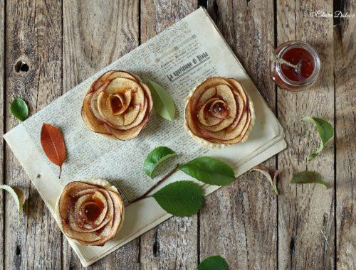 Crostatine confettura e mele