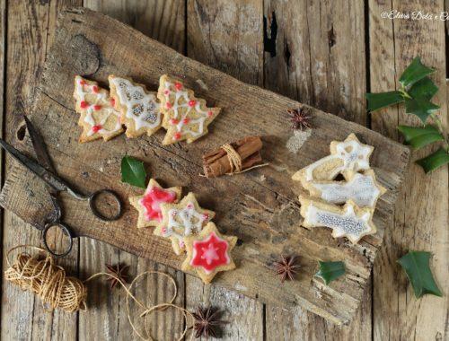 Biscotti natalizi integrali decorati
