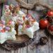 Monoporzioni di cream tart a forma di stelle