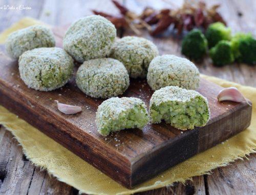 Polpette di broccoli ricetta light senza uova