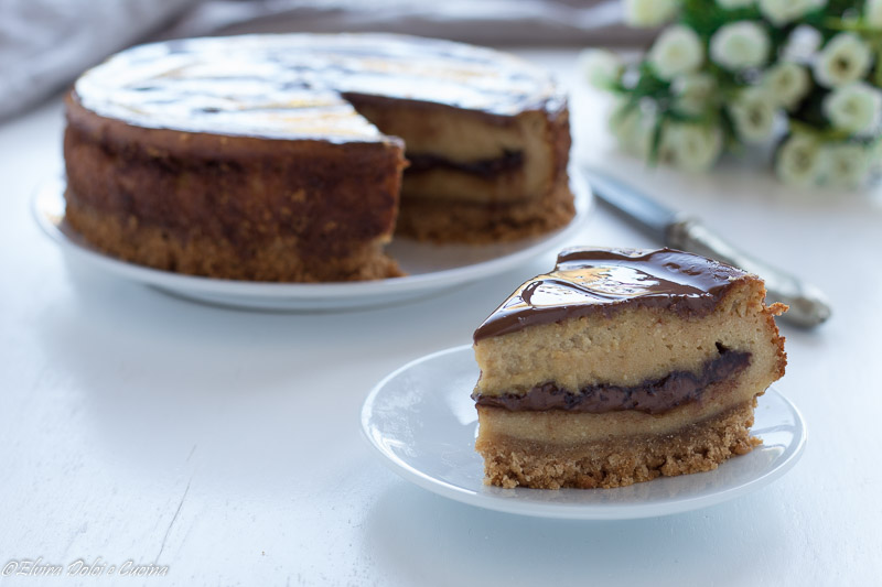 cheesecake caffè e Nutella