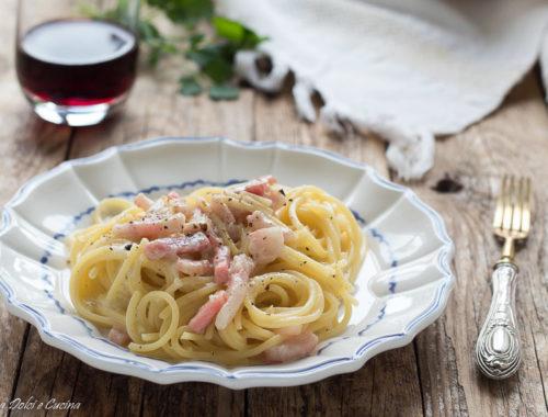 Spaghetti alla gricia ricetta cremosa