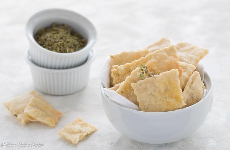 crackers ricetta semplice e veloce