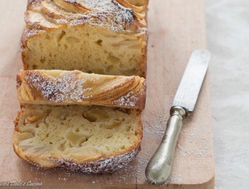 plum cake ricotta mele e cannella