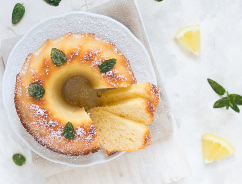 Ciambella limone e yogurt senza burro
