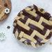 Crostata con intreccio bicolore