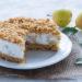 Sbriciolata fredda ricotta e pere - torta senza cottura