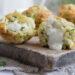Muffin alle zucchine con cuore allo stracchino
