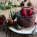 Cioccolata calda cannella e lamponi