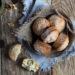 Muffin al cioccolato fondente e noci