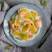 Insalata di finocchi arance e gamberi