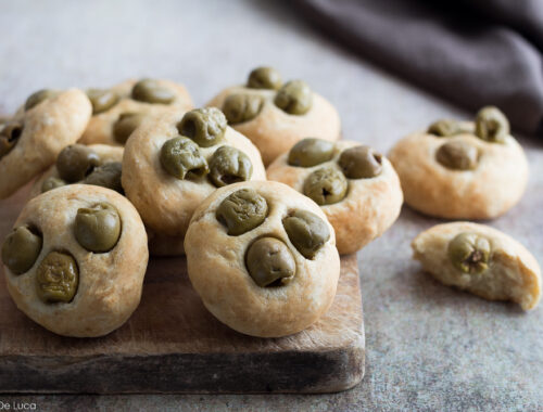 focaccine soffici e veloci alle olive