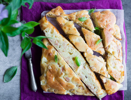 Torta salata svuota frigo senza bilancia