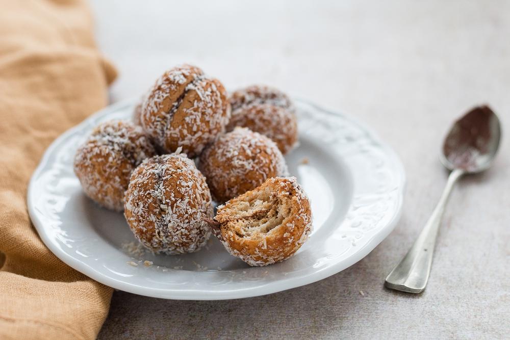 Baci di amaretti Nutella e cocco