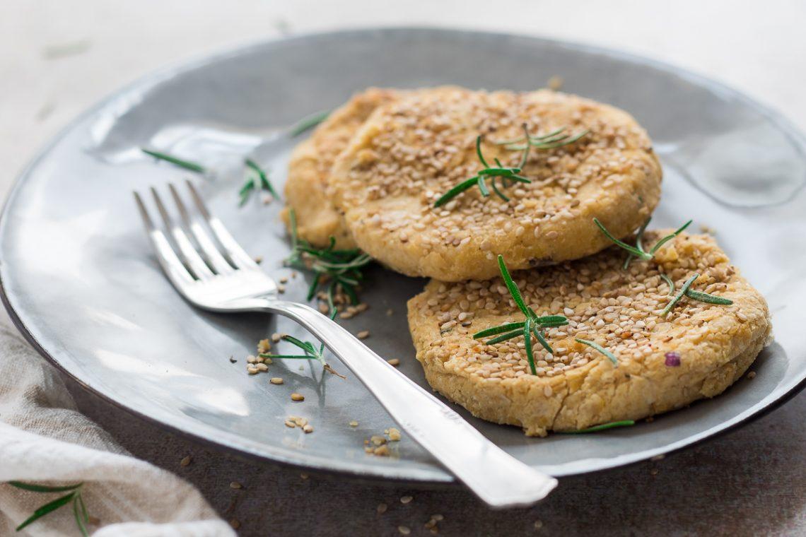 Mini hamburger di ceci ricetta veloce e light