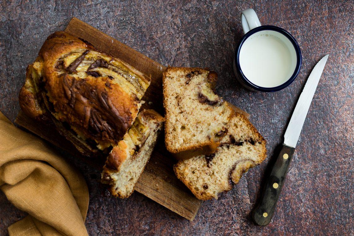 Ricetta banana bread alla Nutella